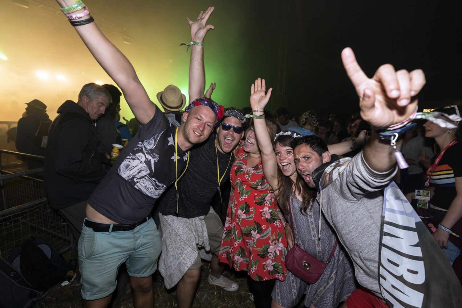 Buttoned Down Disco at Glastonbury Festival