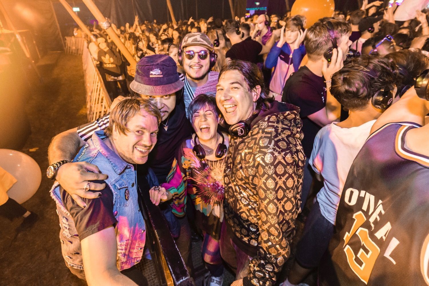Buttoned Down Disco at Reading Festival 2017